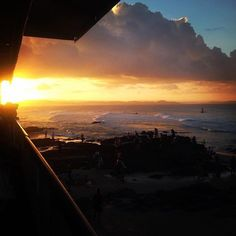 Enjoyed the sunset at the Quiky Pro. #wsl #sunset #surfing #surf #relax