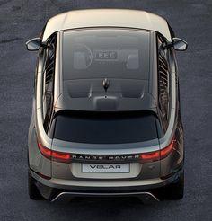 Here's the 1st Shot of the 2018 Range Rover Velar