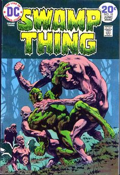 The original Swamp Thing 10 - I think it looks better than the Paquette homage. Plus, unless you have an anniversary or special event going on for your comic, when is it a good idea to do and homage cover? Feels more like they couldn't think of anything original.