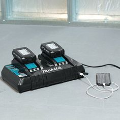 Makita DC18RD 18V Lithium-Ion Dual Port Rapid Optimum Charger http://www.handtoolskit.com/makita-dc18rd-18v-lithium-ion-dual-port-rapid-optimum-charger-2/