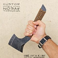 Specially designed to be fast and easy to carry, the Nosaf Subcompact Tomahawk is ideal for those needing an Every Day Carry EDC tomahawk.