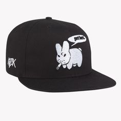 Kidrobot makes some of the coolest hats.