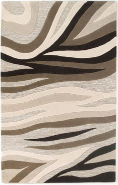 Experience a multi-textural piece of artwork for your floors! A modern simplicity that creates an everlasting presence in any room. I Shop Rug & Home I #neutral #animal