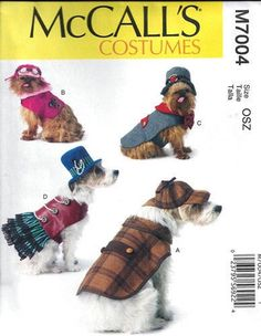 DOG CLOTHES PATTERN / Make Sherlock Holmes by whatcamefirst