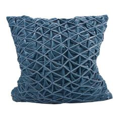 I pinned this Caroline Pleated Pillow in Blue from the Cloud9 Design event at Joss and Main!