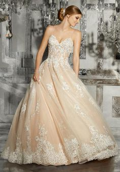 Morilee - Mariska - 8187 - All Dressed Up, Bridal Gown - Morilee - Chattanooga TN's All Dressed Up Bridal Shop / Bridal Boutique offers Wedding Gowns, Prom Dresses & Tuxedo Rentals