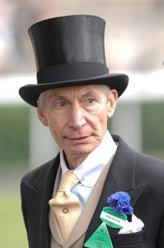 Charlie Watts is the drummer for the Rolling Stones Charlie Watts, Rock N Roll, Rock And Roll Bands, Rock Bands, Los Rolling Stones, Like A Rolling Stone, Keith Richards, Mick Jagger, British Rock