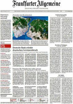 Frankfurter Allgemeine Zeitung vom Mittwoch, 30. Oktober 2013