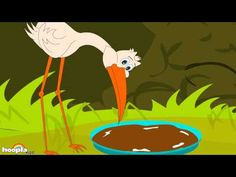"""Watch the animation series of Aesops fables- """"The Fox and the Stork""""   To watch all Aesops fables http://www.youtube.com/watch?v=7S-WlOWnRIc=PL2B48F21B556F3ED2    One bad turn deserves another. The mischievous fox invites the stork for dinner and offers him soup in a shallow dish, which the stork with his long beak is unable to have. The cleve..."""
