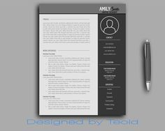 Resume Template / CV Template + Cover Letter for MS Word | Professional and Creative Resume Design | Teacher Resume | Instant Download by CareerStudioTemplate on Etsy https://www.etsy.com/ca/listing/270332364/resume-template-cv-template-cover-letter