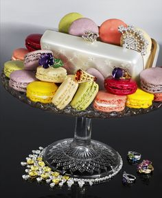 diamonds and macaroons. that's all I need.