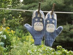 My Neighbor Totoro mittens