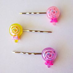 Lolly Pop Hair Pins