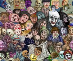 art of the beautiful-grotesque: The Art of James Ensor
