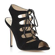 HAVEN - Suede Lace-Up Heeled Gladiator Sandal