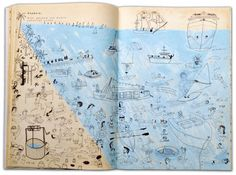 nautical design and organization : #art #text