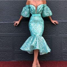 turquoise blue evening dresses short 2020 tea length sequin appliqué off the shoulder luxury evening gowns - 2020 New Prom Dresses Fashion - Fashion Of The Year Short Sleeve Prom Dresses, Mermaid Prom Dresses Lace, Lace Party Dresses, Prom Dresses Blue, Wedding Dresses, Cheap Evening Dresses, Evening Gowns, Winter Dresses, Dresses Elegant