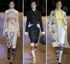 Milan: Miuccia Prada presented her '70s-inspired collection at Via Fogazzaro in a venue that was decked out in rust, deep pile carpet while the epicentre...