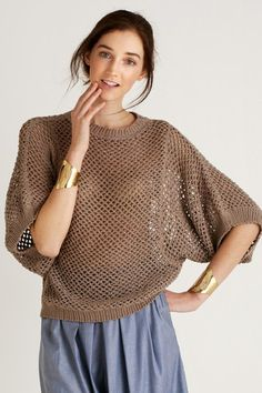 Okello Dolman Sleeve Sweater