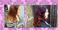 2 tone red melt with chunky slices by beaute boutique xxx