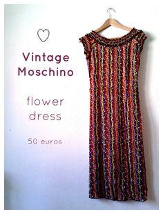 Vintage Moschino dress