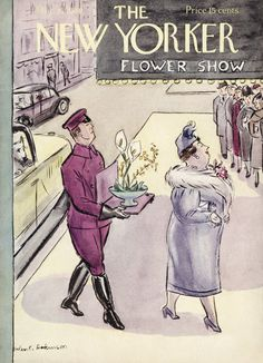 The New Yorker - Saturday, March 16, 1940 - Issue # 787 - Vol. 16 - N° 5 - Cover by : Helen E. Hokinson