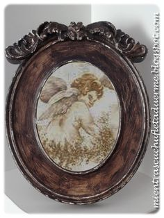 MARCO ENVEJECIDO SHABBY CHIC FRAME