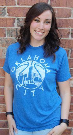 Oklahoma LOUD City Unisex T-Shirt by ElectricCityApparel