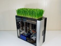 'Bio Computer' Blends Tech and Organic to Grow Wheatgrass