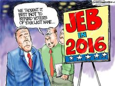 Editorial Cartoons on the 2016 Presidential Elections - US News