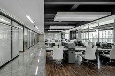 In fact, workplace takes more of our life than our home. Law Office Design, Law Office Decor, Corporate Office Design, Modern Office Design, Office Interior Design, Interior S, Commercial Office Design, Corporate Offices, Workspace Design