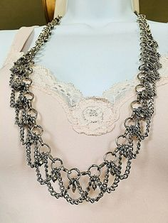 NEW GOLD MULTI LAYER CHAIN VINTAGE LEAF NATURAL NECKLACE STONE WOMENS GREEN BOHO