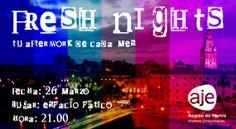 LLEGAN LAS FRESH NIGHT DE AJE REGIÓN DE MURCIA. 26 MARZO
