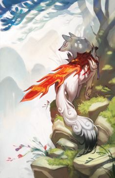 Okami - The End by chiou.deviantart.com on @deviantART