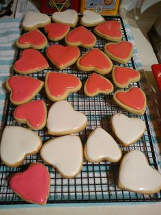 Valentine's Heart Cookies for Kids #desserts #party