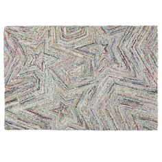 Shop 8 x 10' Seeing Stars Rug. What makes this rug so stellar? Its hand tufted from recycled fabrics, creating an eye-catching and bold star pattern.