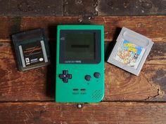 Nintendo GameBoy Game Boy Pocket Green System w/ Donkey Kong & Mask Of Zorro #Nintendo
