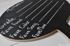 You Can Quote Me - DIY chalkboard conversation bubble