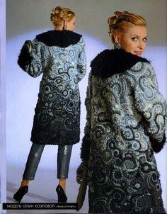 Journal Jurnal Zhurnal MOD Fashion Magazine 542 Russian knit and crochet patterns book