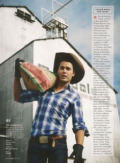 Tim Riggins in GQ Magazine! OMG Love Friday NIght Lights