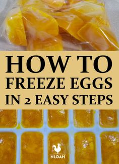 Freezing eggs for later is easier than you think. Just 2 steps and you can keep them in the freezer for up to one year. Canning Recipes, Egg Recipes, Shrimp Recipes, Can You Freeze Eggs, Freezer Eggs, Depression Era Recipes, Survival Food, Emergency Preparedness, Meals