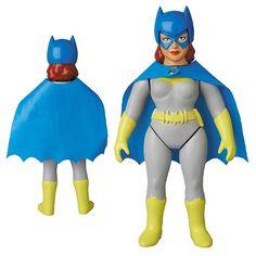 Batman DC Hero Batgirl Sofubi Vinyl Figure