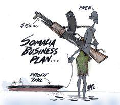 somali piracy cartoon - Google zoeken Somali, Illustrations And Posters, Cartoons, Humor, Google, Illustrations Posters, Cartoon, Cartoon Movies, Humour