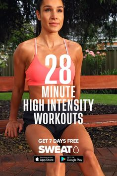 Circuit Training Workouts, Gym Workout Tips, Fitness Workout For Women, Butt Workout, Workout Videos, At Home Workouts, Fitness Tips, Fitness Goals, High Intensity Workout