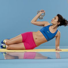 Do this routine 4 times a week (on alternate days); you'll drop up to 4 pounds and tone up in 6 weeks.   Health.com