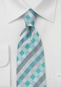 Mark's tie for the wedding... green with blues and grey. Perfect to go with his navy suit.