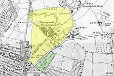 East Midlands Named Bricks : Nottingham Brickworks - part 1 - Mapperley & Thorneywood Nottingham Map, Brickwork, Bricks, Maps, Students, How To Make, Blue Prints, Masonry Construction, Brick