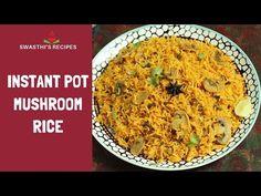 Mushroom biryani (Instant pot & Stovetop) - Swasthi's Recipes