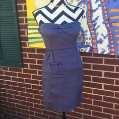 J. Crew Tube Dress with adorable layer. Beautiful layered and tube dress. With built in bra. In excellent used condition. J. Crew Dresses Mini