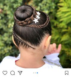 Braids Styles For Kids Black Hair Ideas Childrens Hairstyles, Cute Hairstyles For Kids, Cool Braid Hairstyles, Flower Girl Hairstyles, Little Girl Hairstyles, Black Hairstyles, Medium Length Hair Up, Prince Hair, Gymnastics Hair